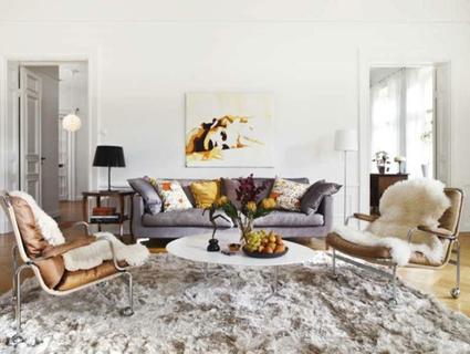 8 façons de décorer votre salon autour d'un canapé gris   Décoration maison intérieure et extérieure   Scoop.it