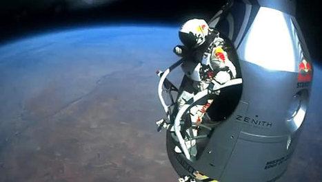 Felix Baumgartner : un saut de géant pour internet ? | Tout le web | Scoop.it