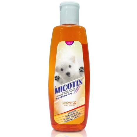 Micotix shampoo - Miconazole Nitrate and Chlorhexidine Gluconate (250ml) | Veterinary Medicines | Scoop.it