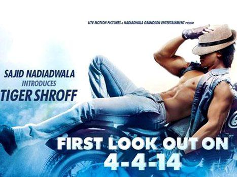 Heropanti : Teaser poster of Tiger Shroff upcoming film. | Filmi Gossip | Scoop.it
