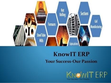 How to Become a Leading ERP Software Manufacturing Company by Knowit Erp | Knowiterp | Scoop.it