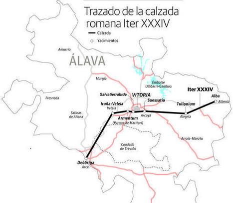 La autopista romana que atravesaba Álava   Arqueología romana en Hispania   Scoop.it