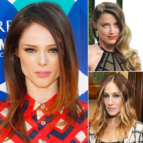 Trend Alert: Colorblocked Hair Color | TAFT: Trends And Fashion Timeline | Scoop.it