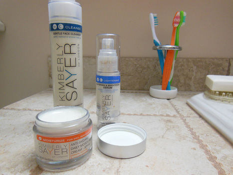 Kimberly Sayer Moisturizer, Cleanser, and Brightening Serum Sensitive Skin Product Review | Annie Haven | Haven Brand | Scoop.it