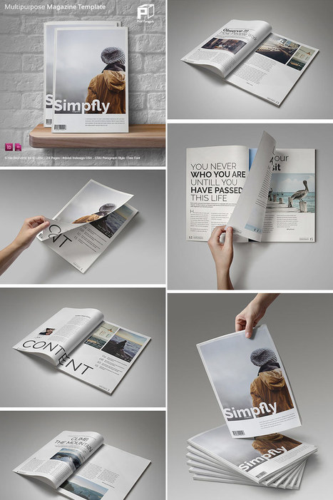20 Magazine Templates With Creative Print Layout Designs | Mance Creative - Graphic and Website Design | Scoop.it