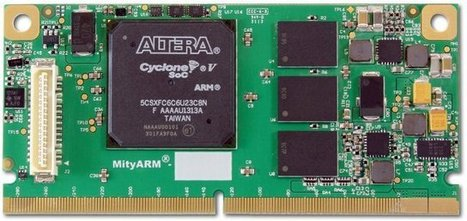 Critical Link MityARM-5CSX CoM Powered by Altera Cyclone V SoC | Embedded Software | Scoop.it