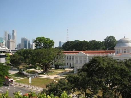 Keeping Singapore Green with Data and Design | Sustainable Cities Collective | Jardines Verticales y azoteas verdes. | Scoop.it