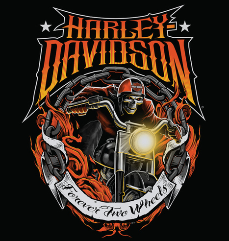 Harley-Davidson Illustrations | Digital & Traditional Art | Scoop.it