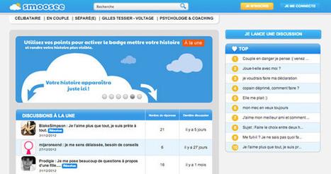 smoosee, le premier réseau social dédié aux conseils sentimentaux | Digital Martketing 101 | Scoop.it