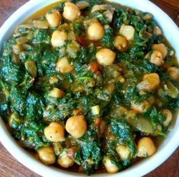 Spinach with Garbanzo Beans - delicious food from Portugal   Recipes and Foods   Scoop.it