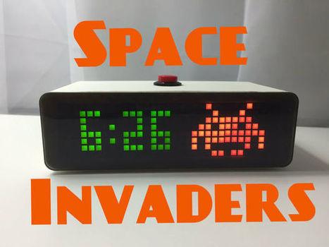 Space Invaders Desktop Clock | Open Source Hardware News | Scoop.it