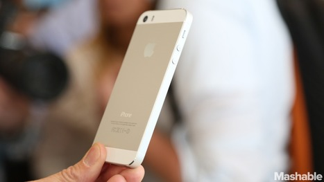 Apple Goes for Gold in First iPhone 5S TV Spot | Intresting | Scoop.it