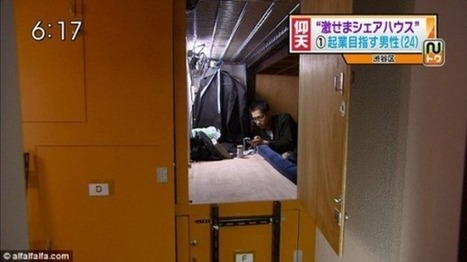 Japan's Tiny Coffin-Sized Apartments | Jonathan Keenan Photography | Scoop.it
