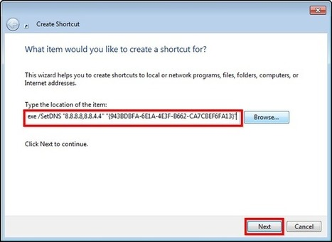 How to Create a Shortcut to Change your DNS Server in Windows | Geek Gurl Grinds | Scoop.it