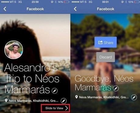 Facebook teste la fonction des photos en diaporama avec Trip Slideshow - #Arobasenet   Going social   Scoop.it