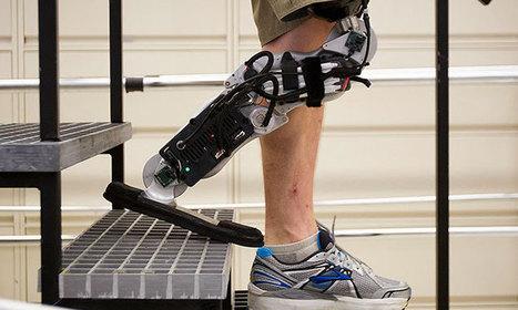 Un homme retrouve l'usage de ses jambes grâce à une prothèse qu'il peut contrôler par la pensée | Technologie & handicap | Scoop.it