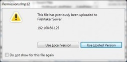 Upload to FileMaker Server From FileMaker Pro 13 | FileMaker News | Scoop.it
