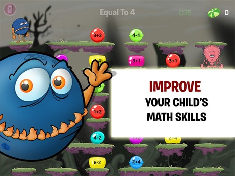 Technology Tidbits: Thoughts of a Cyber Hero: Monster Math | Edtech PK-12 | Scoop.it
