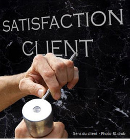 La satisfaction client : une valeur d'entreprise en retrait en France | RelationClients | Scoop.it
