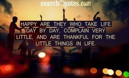 Be Thankful and Happy For It | The Best Quotes of All Time | Scoop.it