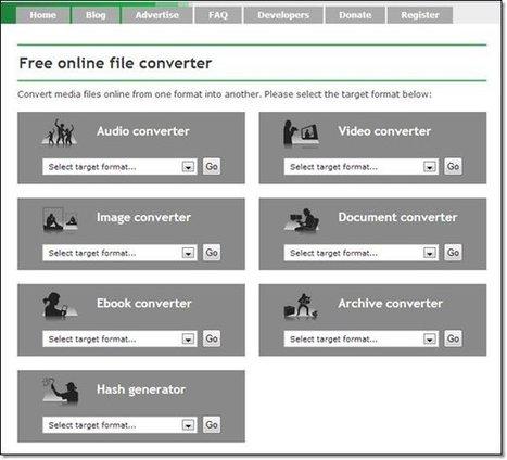 Convertir des fichiers dans tous les formats : 7 sites | Langues et TICE | Scoop.it