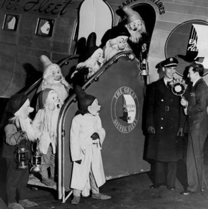 7 Dwarfs Publicity Tour 1938 | Kitsch | Scoop.it
