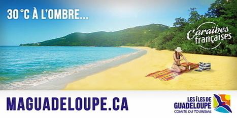 Les îles de la Guadeloupe s'affichent en grand à ... - Jaimonvoyage.ca | Gpe | Scoop.it