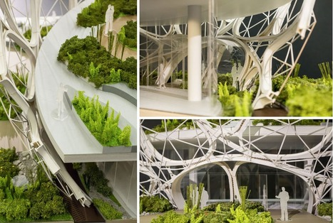 Seattle approves Amazon's biosphere headquarters by NBBJ - designboom | architecture & design magazine | The Architecture of the City | Scoop.it
