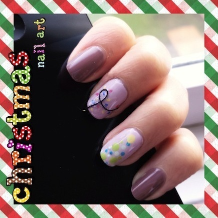 Nail Art How-to: Subtle Christmas Lights | Fashion DIY | Scoop.it