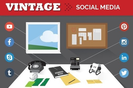 Social Media: Then Vs Now [INFOGRAPHIC] - AllTwitter | Activate - Motivate - TEXTIVATE! | Scoop.it