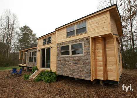 This Rustic, 400-Ft² Tiny House Looks Like A Masterpiece…Because It Is! | Strange days indeed... | Scoop.it