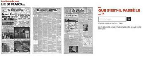 RetroNews. Plongée dans trois siècles de presse écrite | Des ressources numériques pour enseigner | Scoop.it