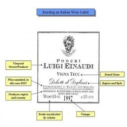 Everything You Wanted To Know About Italian Wine Labels | Wine labels | Scoop.it