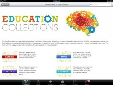 Education Collections: Excellent iPad App Store Featured Section This Week — iPad Insight | QR code & Higher Education | Scoop.it