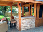 Outdoor Bars and Kitchens – Cedar Wood Structures | Cedar Wood Structures Inc | Scoop.it