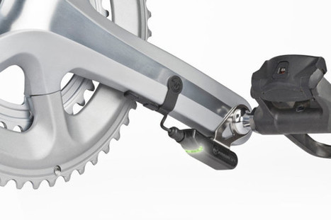 Watteam Powerbeat stick-on powermeter finally shipping, now with carbon crank compatibility! - Bikerumor | Sporting life | Scoop.it