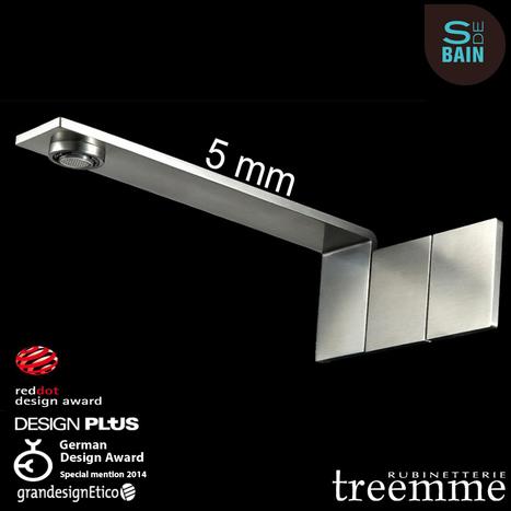Collection de robinetterie 5MM - TREEMME | Design de la salle bain | Scoop.it