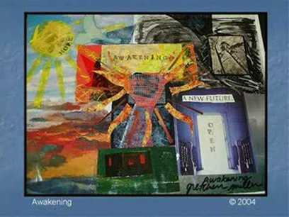 ▶ Visioning Collage Art - YouTube | Creativity and visual practice | Scoop.it
