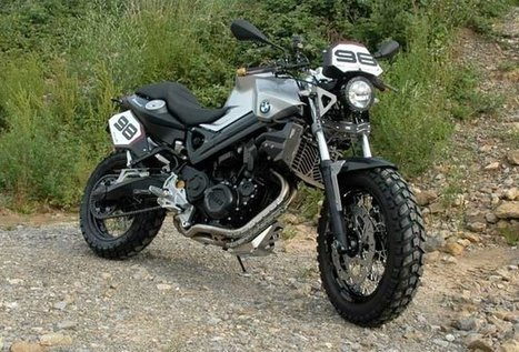 BMW F800 GS SCRAMBLER by TOURATECH | BMW Classic | Scoop.it