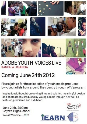 Adobe Youth Voices Live in #Uganda | iEARN in Action | Scoop.it