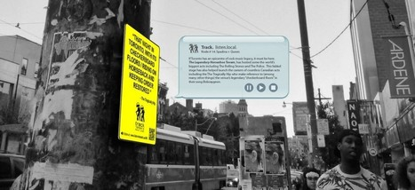 Clic France / The City of Toronto places music-linked QR codes on street corners | News | Canadian Heritage Information Network | Clic France | Scoop.it