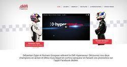 Hyperassur a lancé un premier défi à Sébastien Ogier et Romain Grosjean | InsurTech | Scoop.it