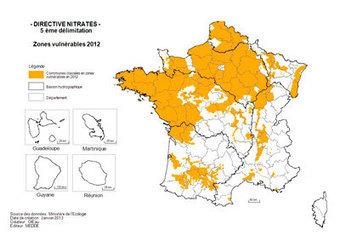 Directive Nitrates : les zones vulnérables en 2013 | Montagne - Environnement - Biodiversité - Climat | Scoop.it