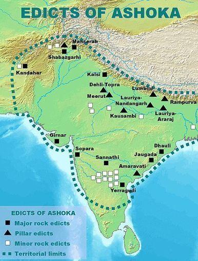 Rock Edicts and Pillars of Ashoka   Year 7 History - Ancient India: Ashoka   Scoop.it