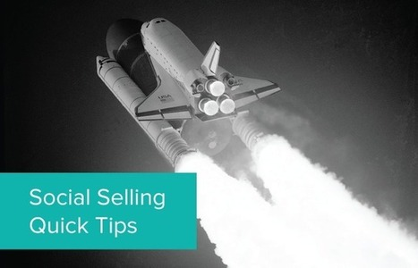How to Use LinkedIn Recent Activity for Social Selling [Quick Tip] | web learning | Scoop.it