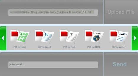 #CometDocs: convertidor de PDF gratis y online | Pedalogica: educación y TIC | Scoop.it