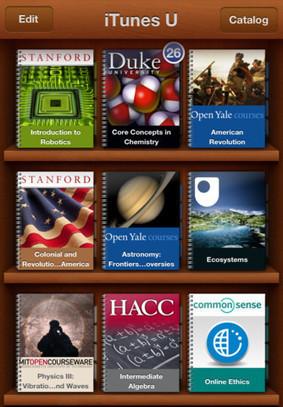 iTunes U, l'application universitaire, avec des cours dedans - Actualitté.com | Ressources d'autoformation dans tous les domaines du savoir  : veille AddnB | Scoop.it