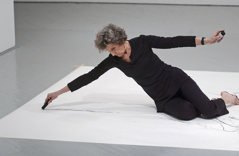 If You Couldn't See Me: The Drawings of Trisha Brown   The Art of Dance   Scoop.it