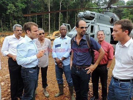 Emmanuel Macron face aux opérateurs miniers   Guyane : alertes mine d'or Nationale   Scoop.it