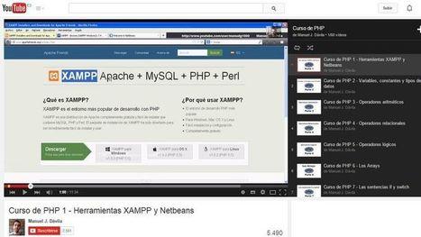 Curso gratuito de programación con PHP en 60 vídeos | Cursos y Recursos Gratuitos | Scoop.it
